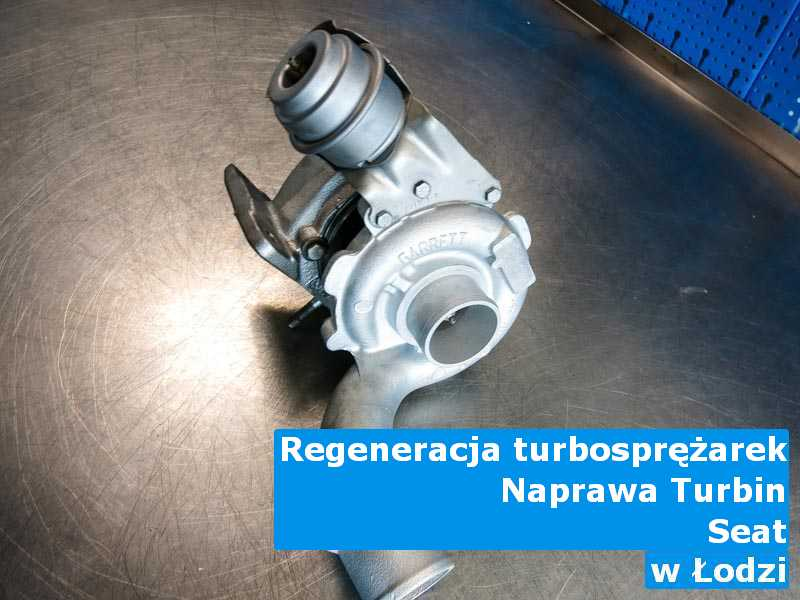 Turbosprężarki marki Seat po wizycie w ASO w Łodzi