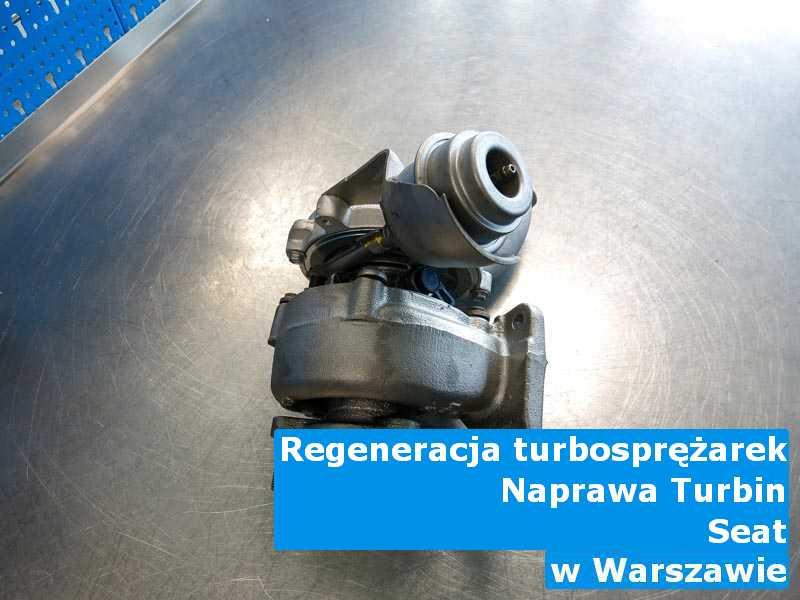 Turbosprężarki z auta Seat po wymianie w Warszawie