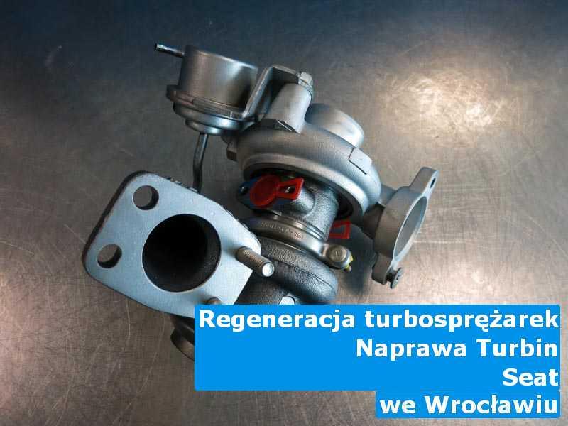 Turbiny z pojazdu marki Seat po procesie regeneracji z Wrocławia