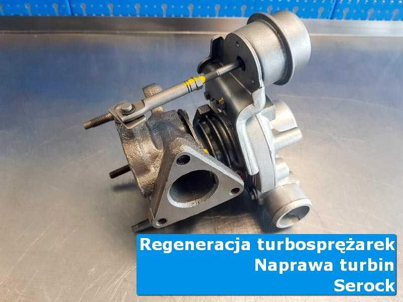 Układ turbodoładowania po serwisie u fachowców w Serocku