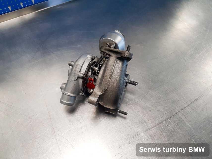 Turbina do diesla marki BMW po naprawie w warsztacie gdzie wykonuje się usługę Serwis turbiny