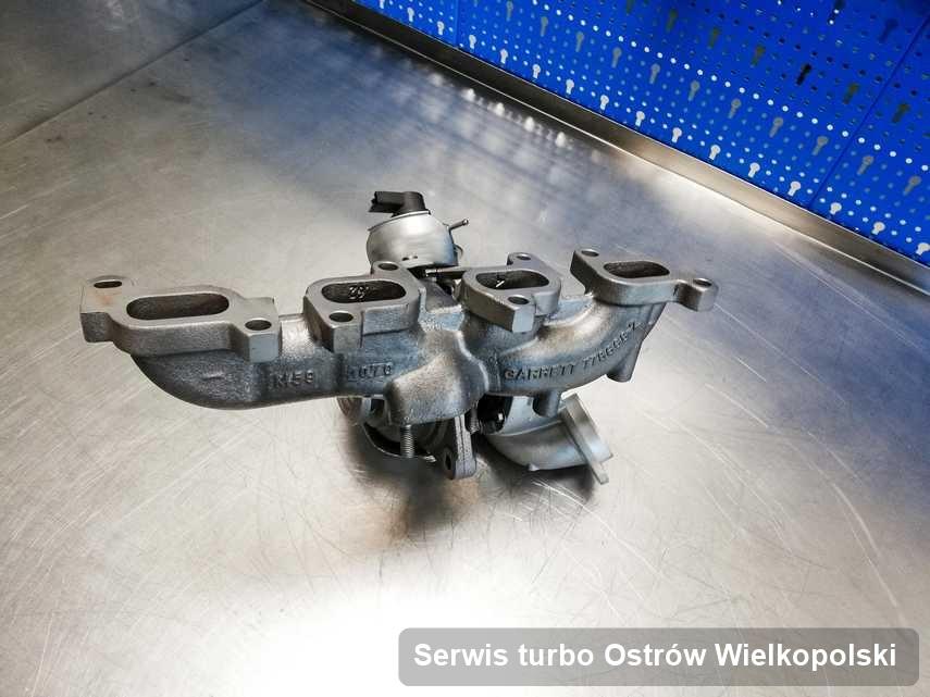 Turbina po zrealizowaniu usługi Serwis turbo w firmie z Ostrowa Wielkopolskiego działa jak nowa przed spakowaniem