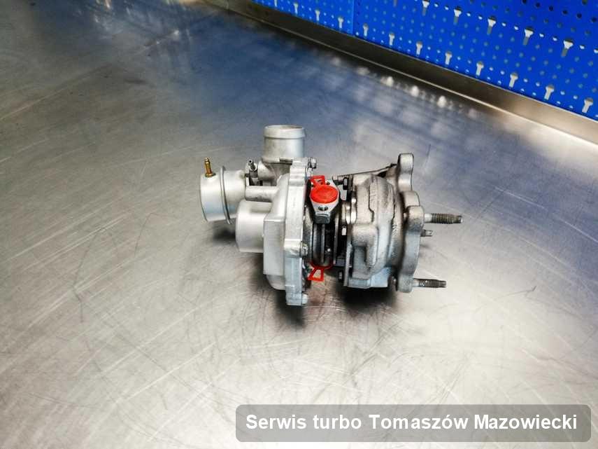 Turbo po zrealizowaniu serwisu Serwis turbo w pracowni regeneracji w Tomaszowie Mazowieckim o parametrach jak nowa przed wysyłką