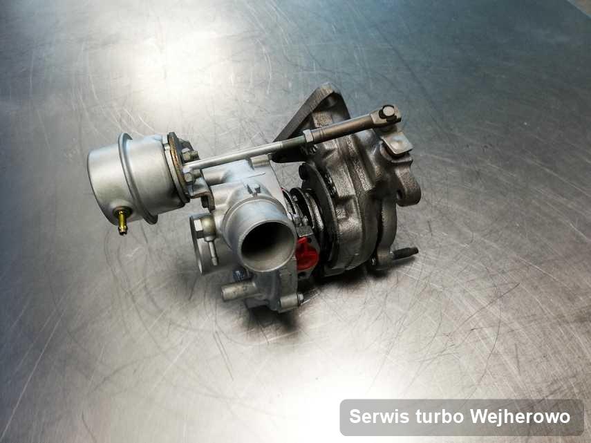 Turbo po wykonaniu zlecenia Serwis turbo w serwisie w Wejherowie w doskonałym stanie przed spakowaniem