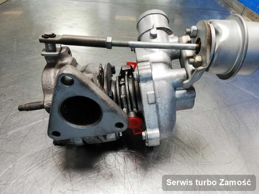 Turbo po przeprowadzeniu serwisu Serwis turbo w pracowni regeneracji z Zamościa o parametrach jak nowa przed spakowaniem