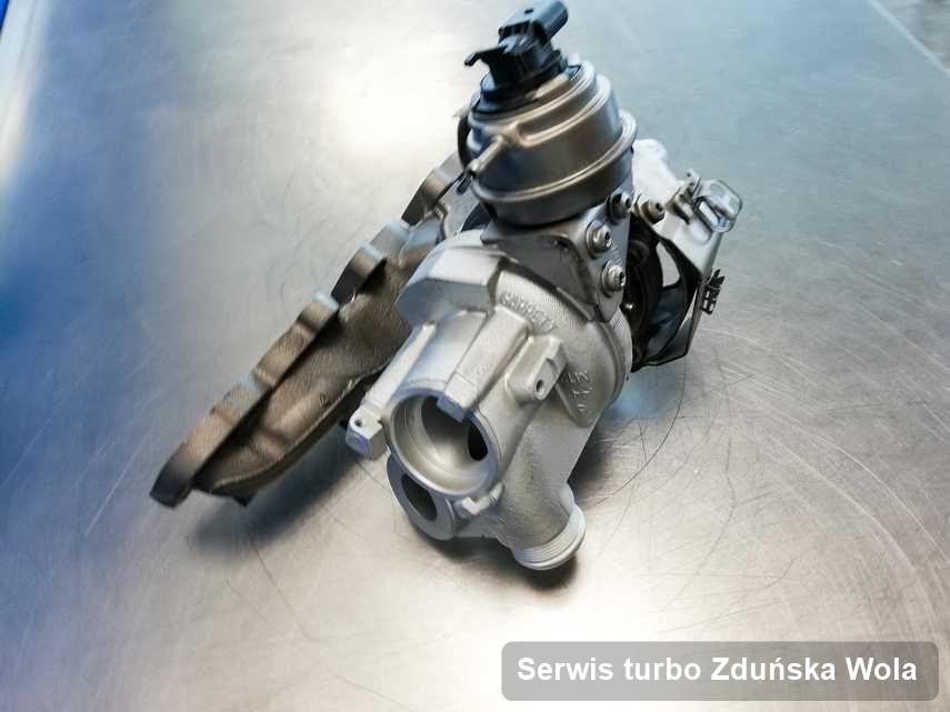 Turbosprężarka po zrealizowaniu usługi Serwis turbo w pracowni regeneracji w Zduńskiej Woli o osiągach jak nowa przed spakowaniem