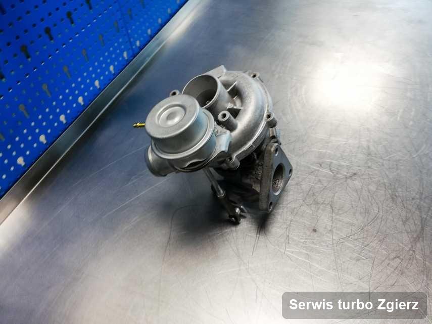 Turbosprężarka po wykonaniu serwisu Serwis turbo w warsztacie w Zgierzu w świetnej kondycji przed wysyłką