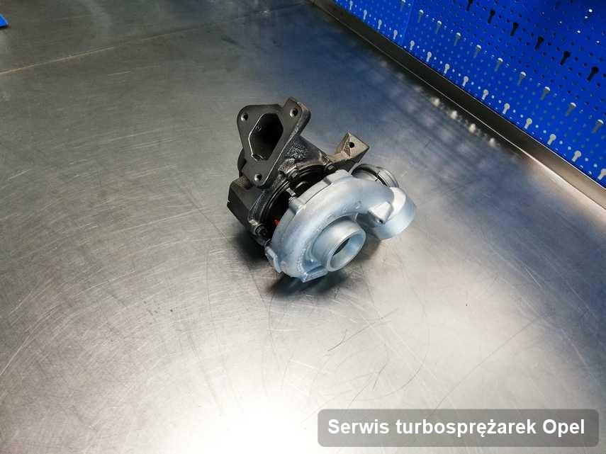 Turbosprężarka do osobówki firmy Opel wyremontowana w firmie gdzie przeprowadza się  serwis Serwis turbosprężarek