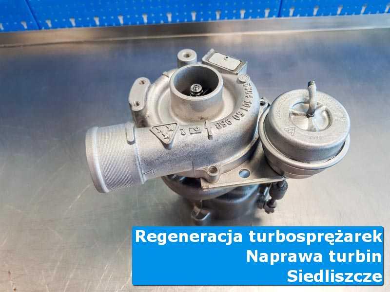 Układ turbodoładowania po przygotowaniu w autoryzowanej pracowni w Siedliszczu