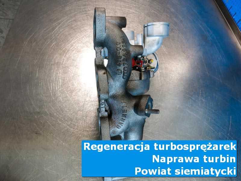 Turbosprężarka po wyważaniu w autoryzowanym serwisie, powiat siemiatycki