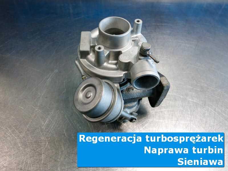 Układ turbodoładowania przed pakowaniem u specjalistów w Sieniawie