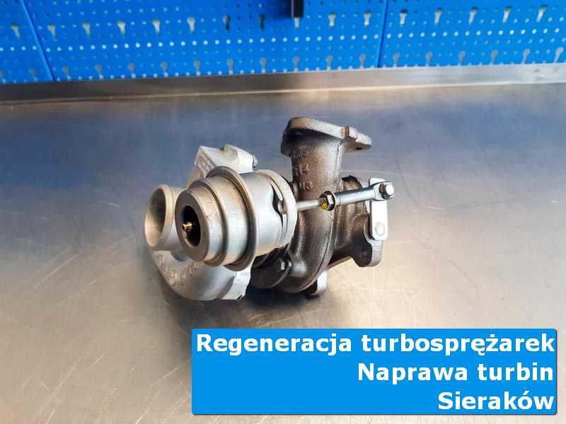 Układ turbodoładowania przed pakowaniem w autoryzowanej pracowni w Sierakowie