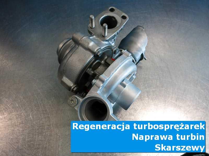 Układ turbodoładowania po naprawie w warsztacie w Skarszewach