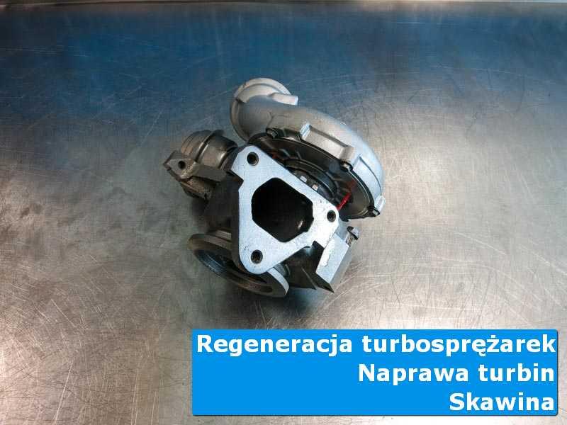 Układ turbodoładowania przed oddaniem do klienta w specjalistycznej pracowni w Skawinie