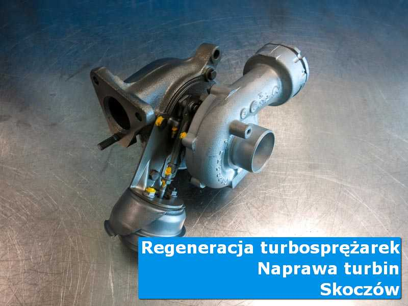 Układ turbodoładowania po wizycie w ASO w laboratorium w Skoczowie