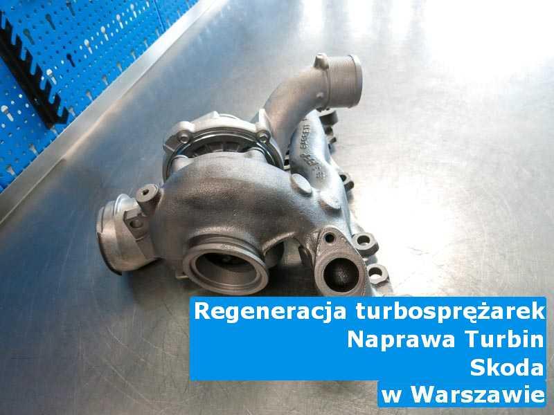 Turbosprężarka marki Skoda wyważona w Warszawie