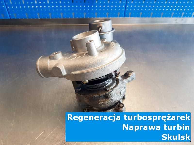 Układ turbodoładowania po przywróceniu sprawności u specjalistów w Skulsku