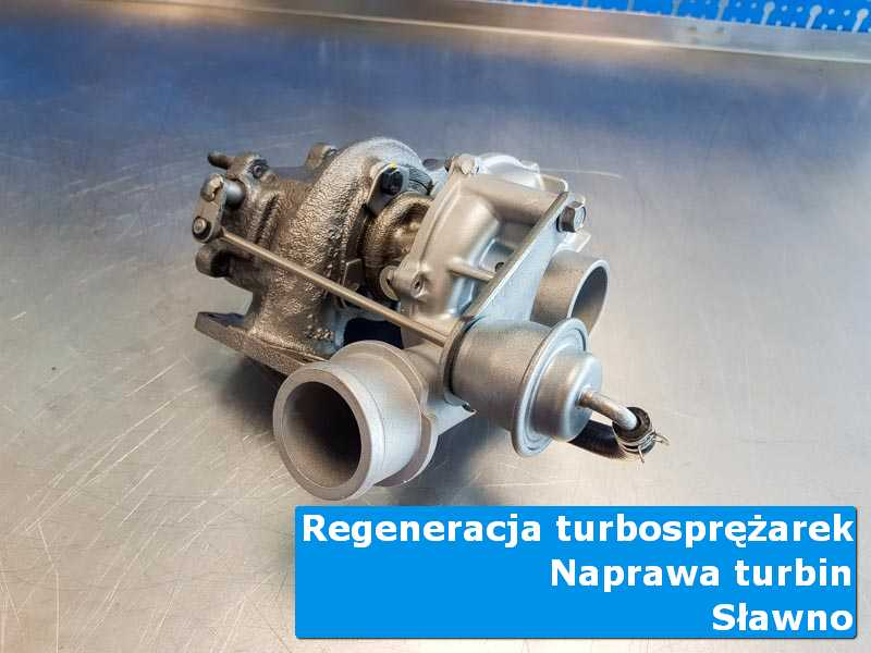 Turbosprężarka po przygotowaniu w specjalistycznej pracowni w Sławnie