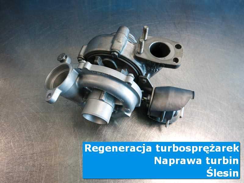 Turbosprężarka przed montażem w autoryzowanej pracowni z Ślesina