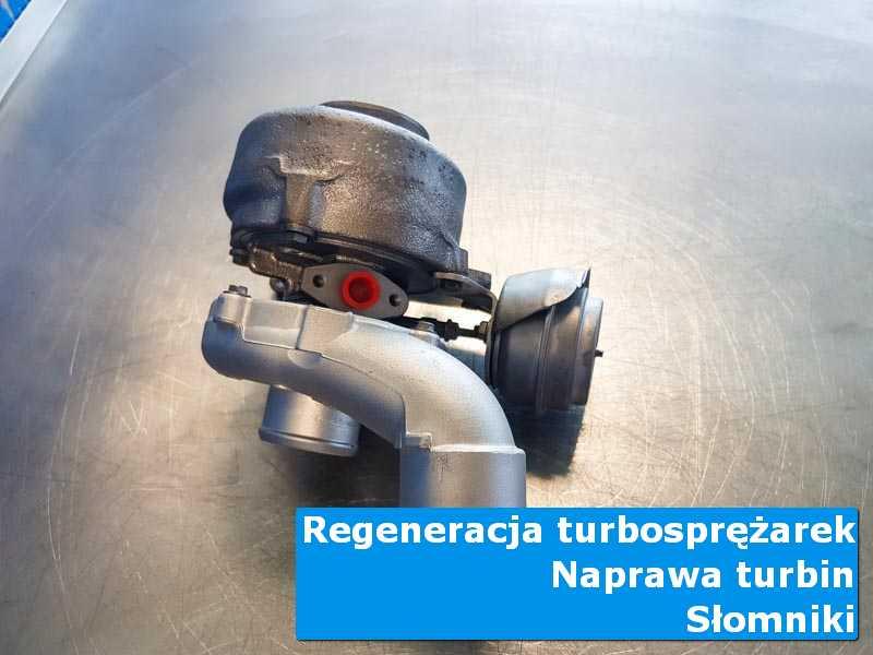 Układ turbodoładowania po przygotowaniu w pracowni z Słomnik
