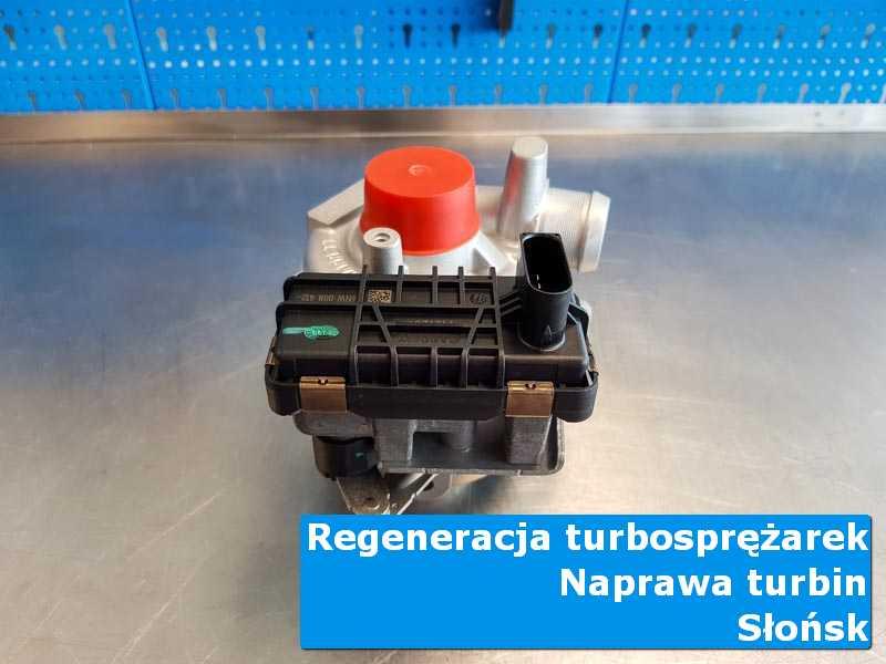 Turbosprężarka przed oddaniem do klienta w specjalistycznej pracowni w Słońsku