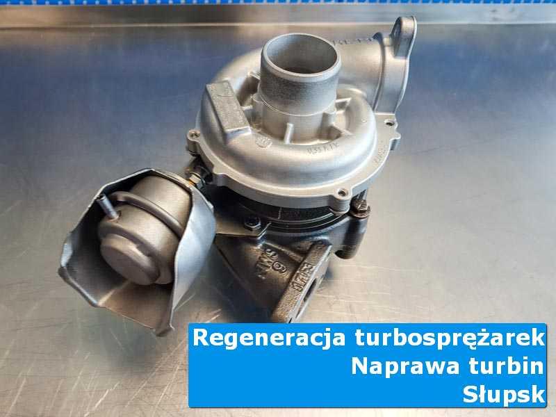 Układ turbodoładowania po serwisie na stole pracowniczym z Słupska