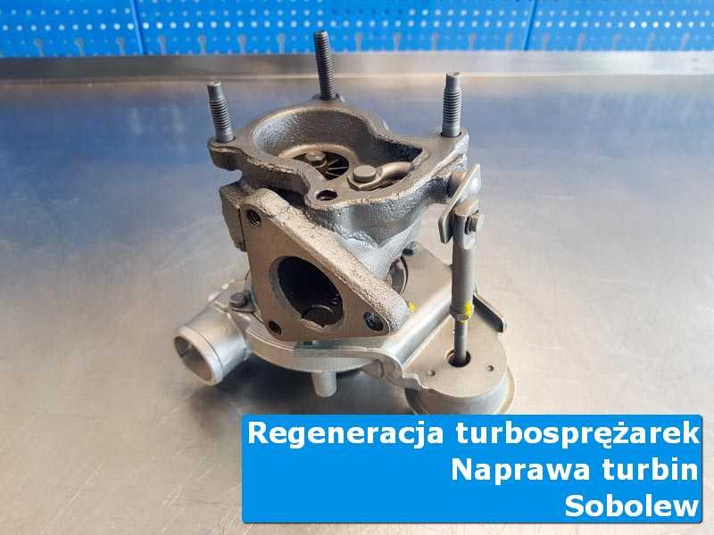 Układ turbodoładowania po demontażu u fachowców z Sobolewa