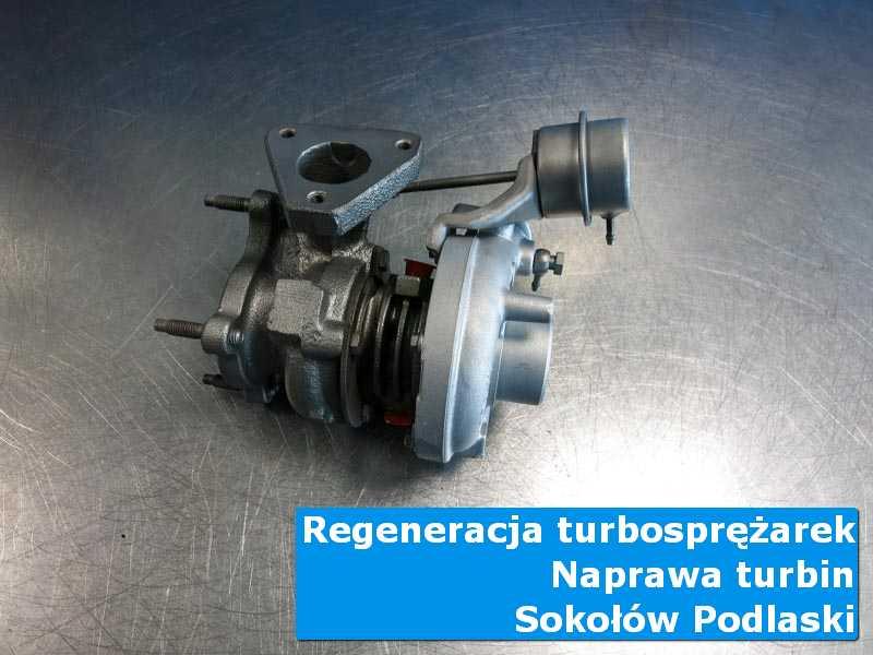 Układ turbodoładowania po przygotowaniu w nowoczesnej pracowni w Sokołowie Podlaskim