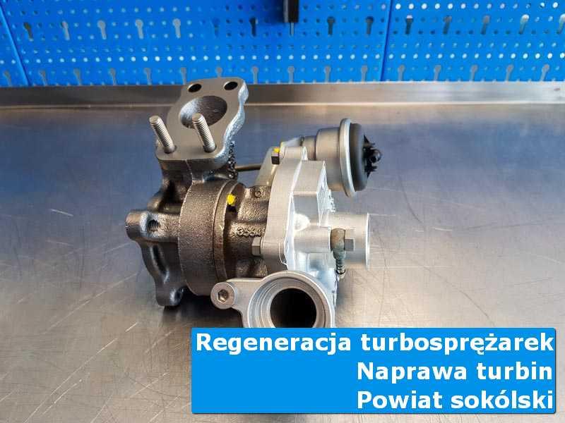 Turbosprężarka po naprawie w profesjonalnym serwisie, powiat sokólski