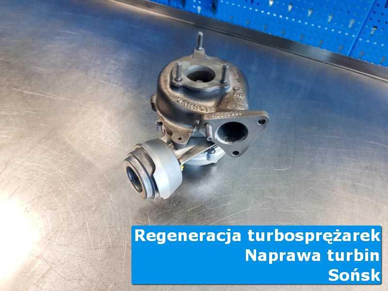 Układ turbodoładowania po wymianie w laboratorium w Sońsku