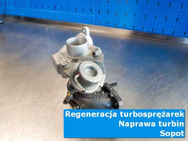Układ turbodoładowania przed demontażem u specjalistów w Sopocie