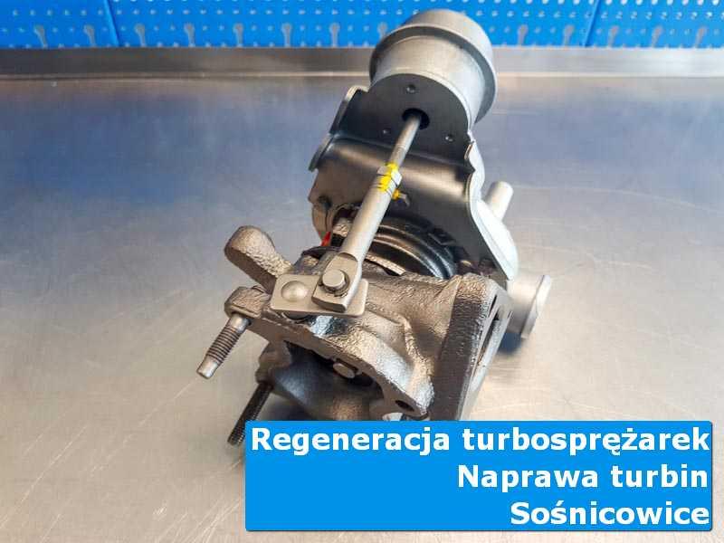 Turbosprężarka po demontażu w autoryzowanej pracowni z Sośnicowic