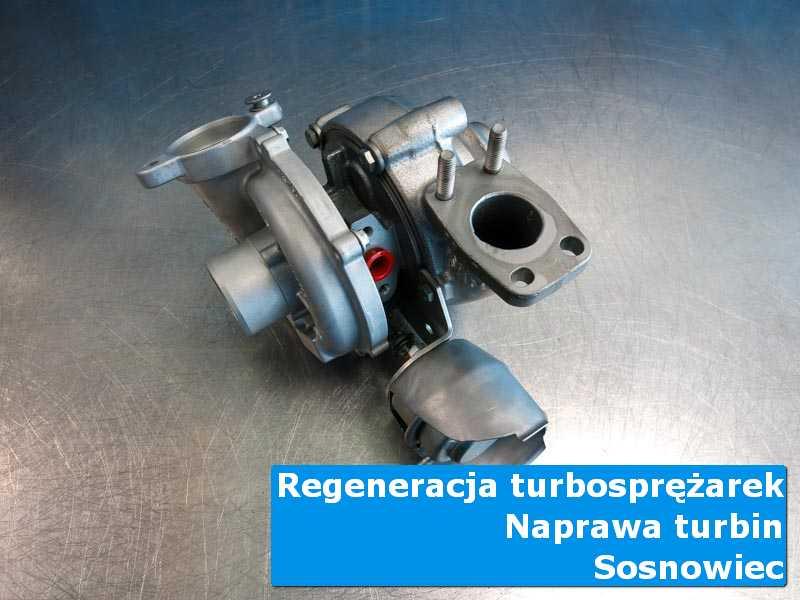 Turbosprężarka przed oddaniem do klienta w nowoczesnej pracowni z Sosnowca