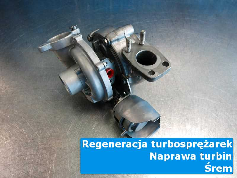 Układ turbodoładowania przed montażem w autoryzowanej pracowni w Śremie
