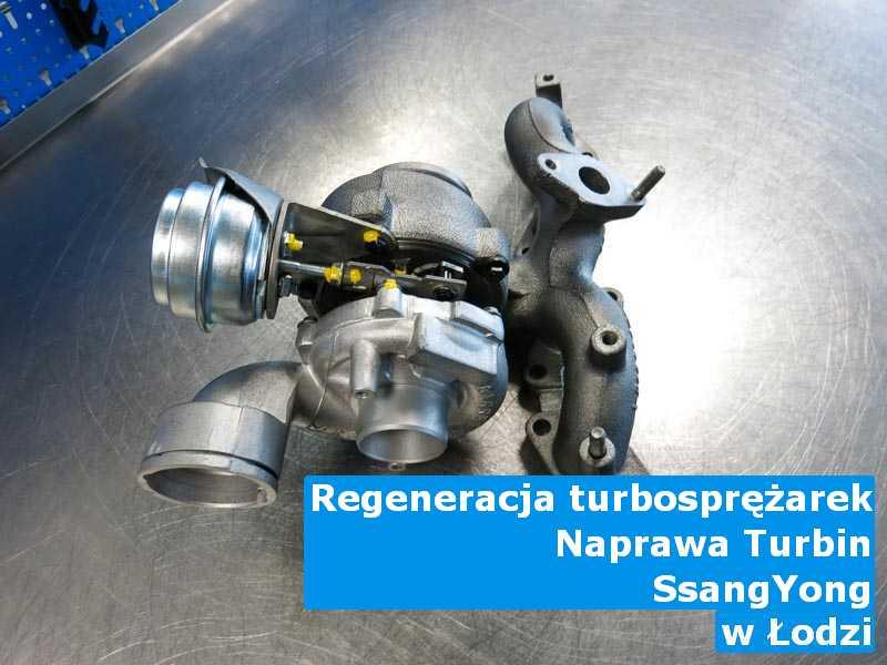 Turbosprężarki z auta SsangYong remontowane w Łodzi