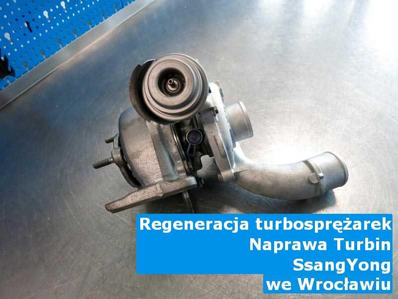 Turbina z pojazdu marki SsangYong zdiagnozowana w Wrocławiu