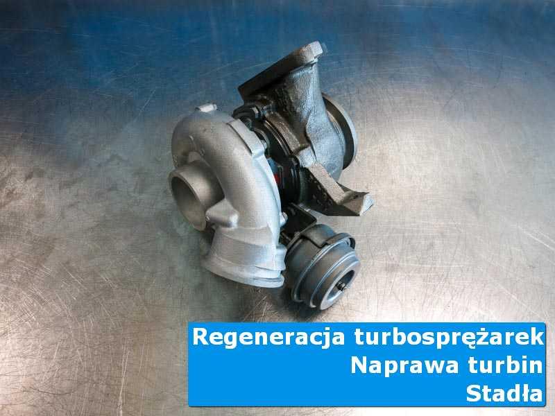 Układ turbodoładowania po serwisie w nowoczesnej pracowni z Stadeł