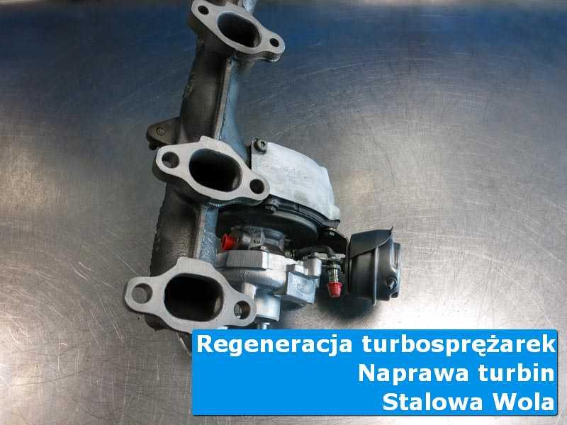 Turbosprężarka przed demontażem u specjalistów w Stalowej Woli