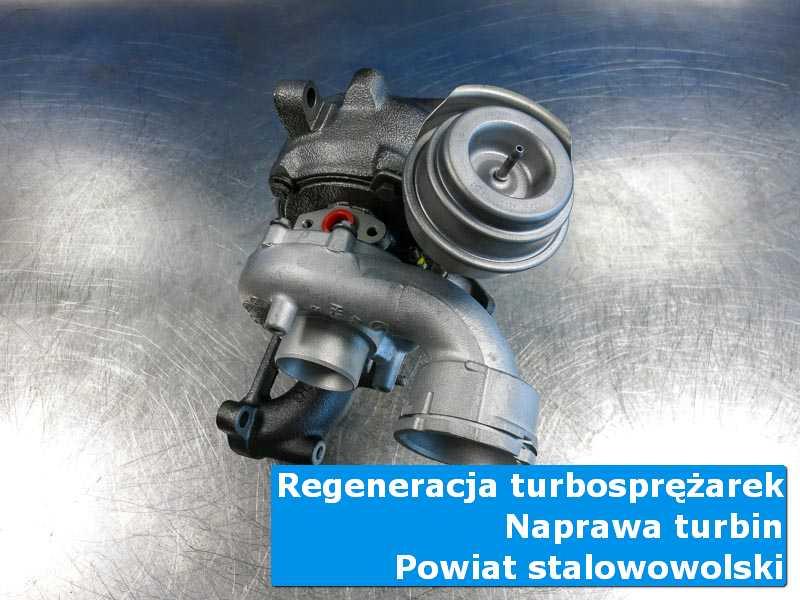 Turbosprężarka po czyszczeniu w specjalistycznej pracowni, powiat stalowowolski