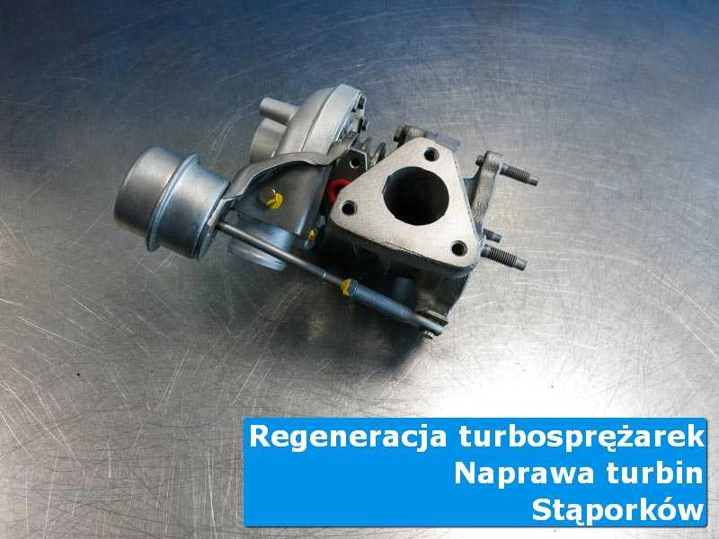 Turbosprężarka przed wymianą w autoryzowanej pracowni z Stąporkowa