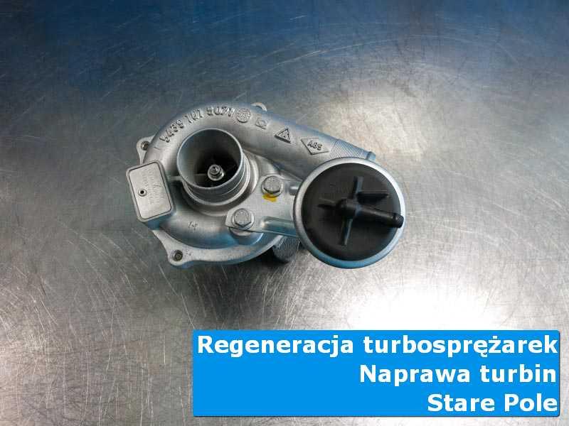 Układ turbodoładowania po czyszczeniu w laboratorium z Starego Pola