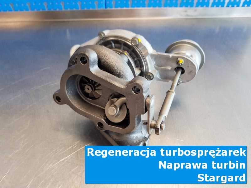 Układ turbodoładowania po regeneracji w autoryzowanej pracowni z Stargardu