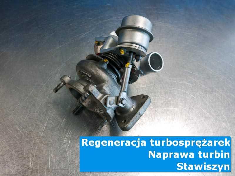 Turbosprężarka przed pakowaniem u specjalistów z Stawiszyna