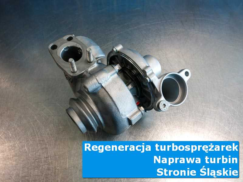 Układ turbodoładowania po wymianie w nowoczesnej pracowni w Stroniu Śląskim
