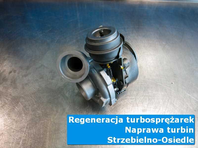 Turbosprężarka przed oddaniem do klienta u fachowców z Strzebielina-Osiedla