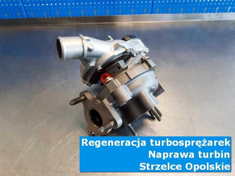 Układ turbodoładowania po serwisie w profesjonalnym serwisie w Strzelcach Opolskich