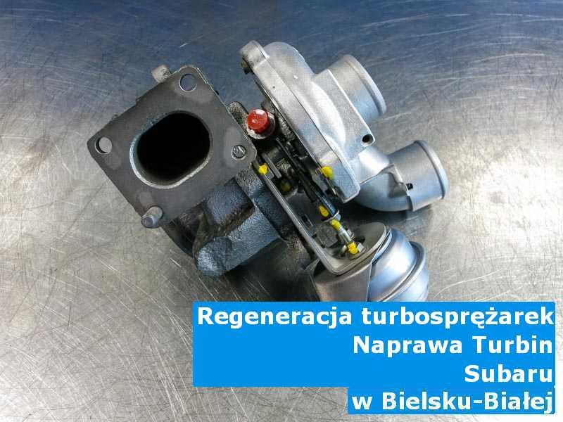 Turbosprężarka z samochodu Subaru wysłana do warsztatu w Bielsku-Białej