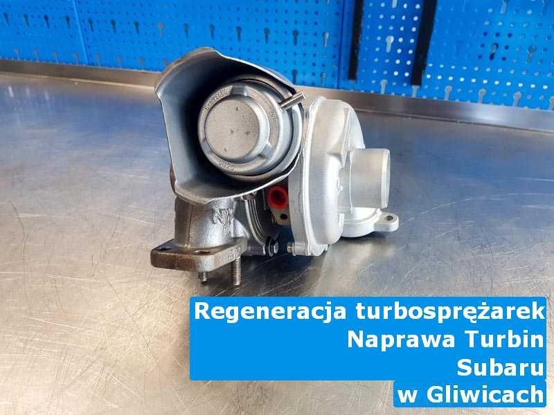 Turbiny z pojazdu marki Subaru zdiagnozowane w Gliwicach