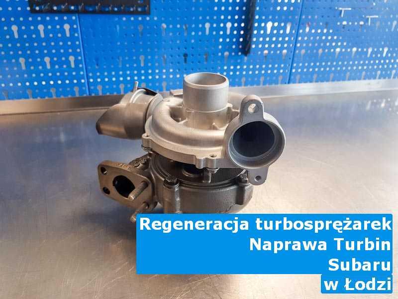 Turbo marki Subaru w warsztacie w Łodzi