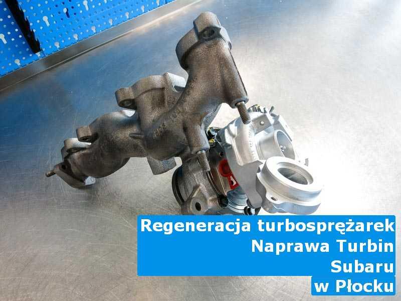 Turbosprężarki z samochodu Subaru z fabrycznymi osiągami z Płocka